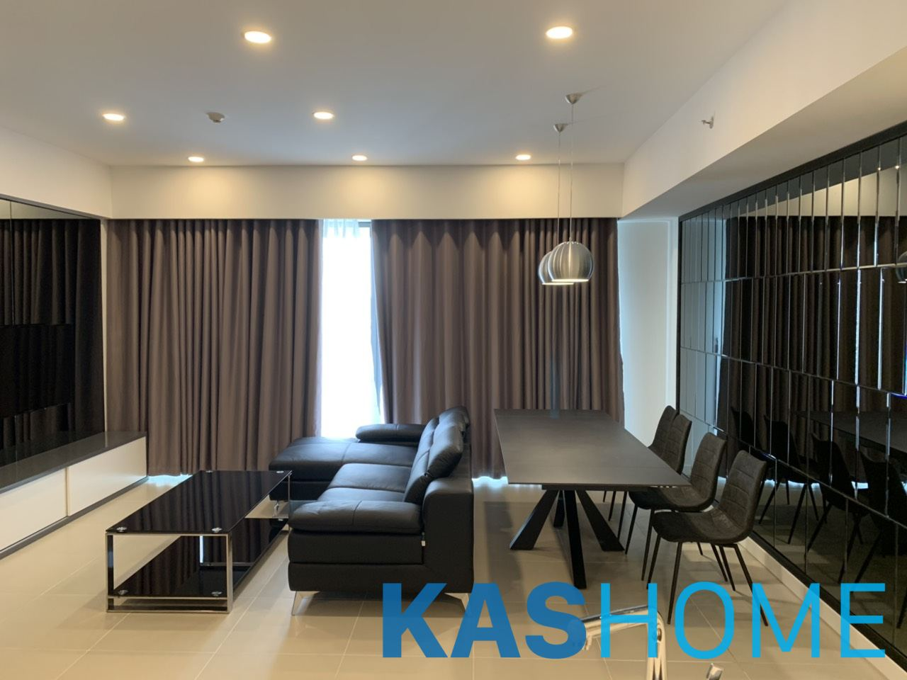 2 beds fully furnished apartment for rent in Gateway Thao Dien