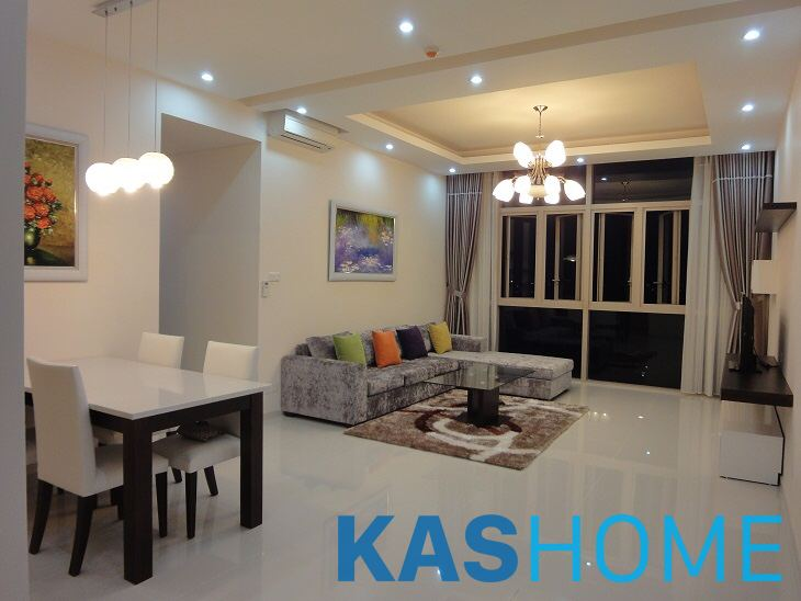 3 Beds fully furnished apartment for rent in The Vista An Phu