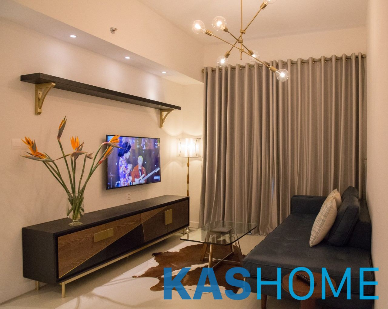 01 Bed Apartment For Rent In Gate Way Thao Dien