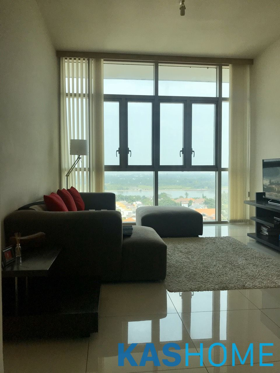 02 Beds Fully Furnished Apartment For Rent In The Vista An Phu