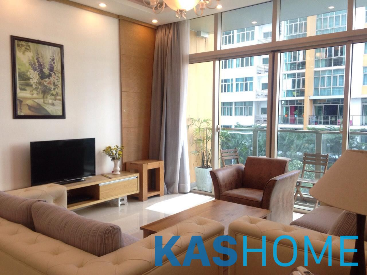03 Beds Fully Furnished Apartment For Rent In The Vista An Phu